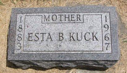 KUCK, ESTA BLANCHE - Turner County, South Dakota | ESTA BLANCHE KUCK - South Dakota Gravestone Photos