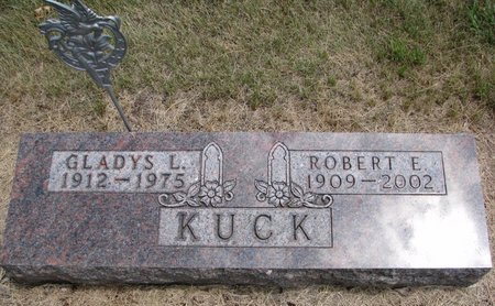 KUCK, GLADYS L. - Turner County, South Dakota | GLADYS L. KUCK - South Dakota Gravestone Photos