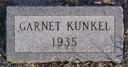 KUNKEL, GARNET - Turner County, South Dakota | GARNET KUNKEL - South Dakota Gravestone Photos