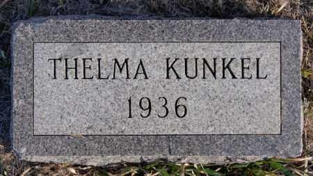 KUNKEL, THELMA - Turner County, South Dakota | THELMA KUNKEL - South Dakota Gravestone Photos