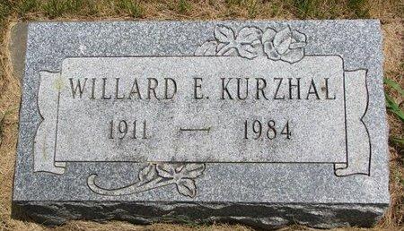 KURZHAL, WILLARD E. - Turner County, South Dakota | WILLARD E. KURZHAL - South Dakota Gravestone Photos
