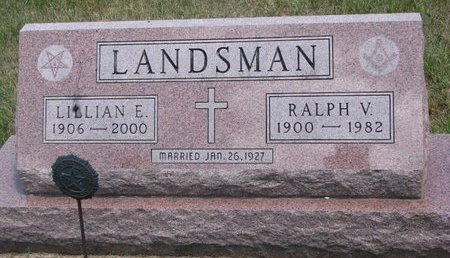 LANDSMAN, LILLIAN EVELYN - Turner County, South Dakota | LILLIAN EVELYN LANDSMAN - South Dakota Gravestone Photos