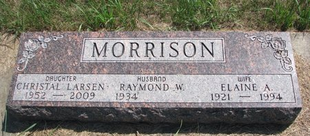 MORRISON LARSEN, CHRISTAL - Turner County, South Dakota | CHRISTAL MORRISON LARSEN - South Dakota Gravestone Photos