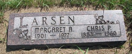 LARSEN, MARGARET A. - Turner County, South Dakota | MARGARET A. LARSEN - South Dakota Gravestone Photos