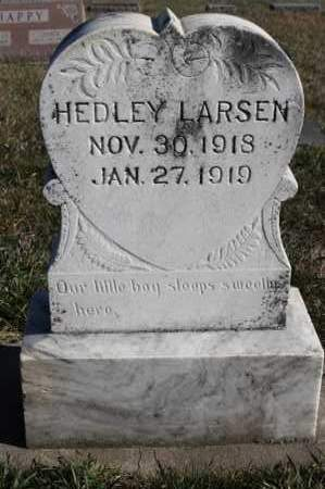 LARSEN, HEDLEY - Turner County, South Dakota   HEDLEY LARSEN - South Dakota Gravestone Photos