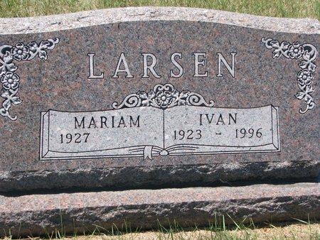 LARSEN, IVAN - Turner County, South Dakota | IVAN LARSEN - South Dakota Gravestone Photos