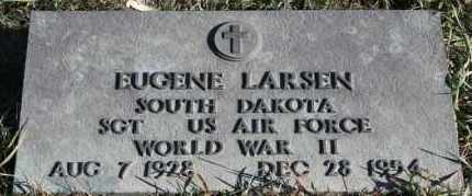 LARSEN, EUGENE (WWII) - Turner County, South Dakota | EUGENE (WWII) LARSEN - South Dakota Gravestone Photos