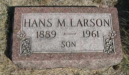 LARSON, HANS M. - Turner County, South Dakota | HANS M. LARSON - South Dakota Gravestone Photos
