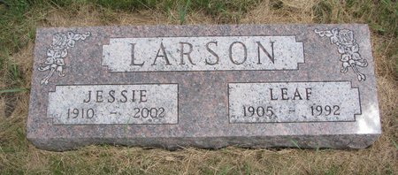 LARSON, LEAF - Turner County, South Dakota | LEAF LARSON - South Dakota Gravestone Photos