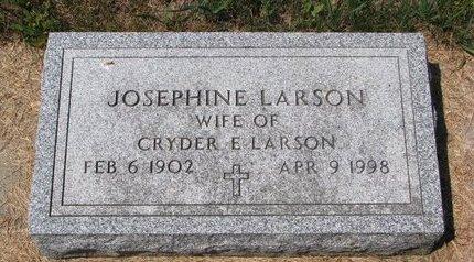 LARSON, JOSEPHINE - Turner County, South Dakota | JOSEPHINE LARSON - South Dakota Gravestone Photos