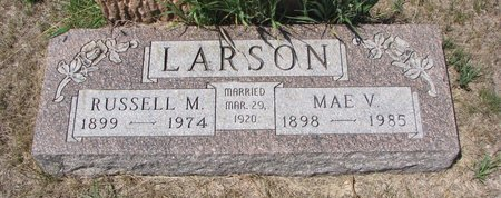 LARSON, MAE VIOLET - Turner County, South Dakota | MAE VIOLET LARSON - South Dakota Gravestone Photos