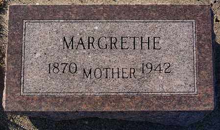 LAURIDSEN, MARGRETHE - Turner County, South Dakota | MARGRETHE LAURIDSEN - South Dakota Gravestone Photos