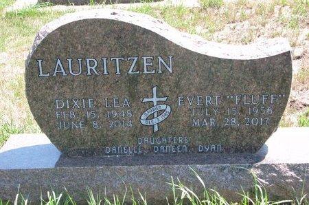 "LAURITZEN, EVERT ""FLUFF"" - Turner County, South Dakota | EVERT ""FLUFF"" LAURITZEN - South Dakota Gravestone Photos"