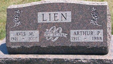 RUCH LIEN, AVIS M. - Turner County, South Dakota | AVIS M. RUCH LIEN - South Dakota Gravestone Photos