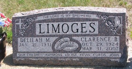 LIMOGES, CLARENCE B. - Turner County, South Dakota | CLARENCE B. LIMOGES - South Dakota Gravestone Photos