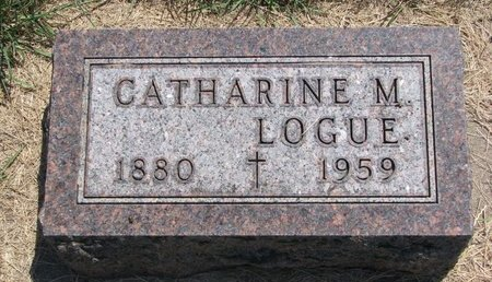 LOGUE, CATHARINE M. - Turner County, South Dakota   CATHARINE M. LOGUE - South Dakota Gravestone Photos