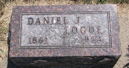 LOGUE, DANIEL J. - Turner County, South Dakota | DANIEL J. LOGUE - South Dakota Gravestone Photos