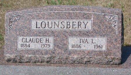 GRIMSLEY LOUNSBERY, IVA LORENA - Turner County, South Dakota | IVA LORENA GRIMSLEY LOUNSBERY - South Dakota Gravestone Photos