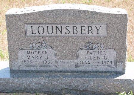 LOUNSBERY, GLEN G. - Turner County, South Dakota | GLEN G. LOUNSBERY - South Dakota Gravestone Photos