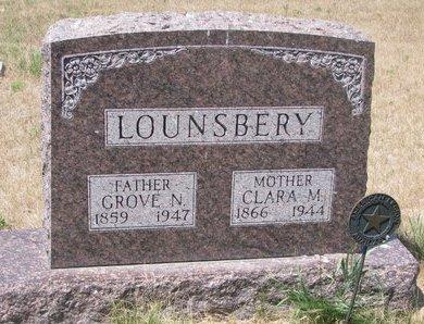 EPPLE LOUNSBERY, CLARA M. - Turner County, South Dakota   CLARA M. EPPLE LOUNSBERY - South Dakota Gravestone Photos