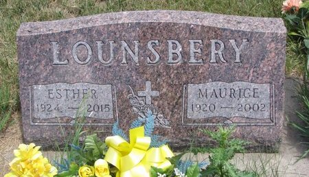 LOUNSBERY, ESTHER BERNICE - Turner County, South Dakota | ESTHER BERNICE LOUNSBERY - South Dakota Gravestone Photos