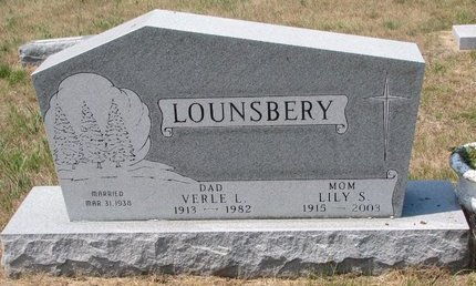 LOUNSBERY, LILY SOPHIA - Turner County, South Dakota | LILY SOPHIA LOUNSBERY - South Dakota Gravestone Photos