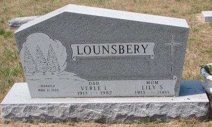 LOUNSBERY, VERLE L. - Turner County, South Dakota   VERLE L. LOUNSBERY - South Dakota Gravestone Photos