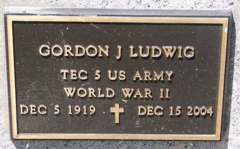 LUDWIG, GORDON J. (MILITARY) - Turner County, South Dakota | GORDON J. (MILITARY) LUDWIG - South Dakota Gravestone Photos