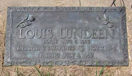 LUNDEEN, LOUIS (MILITARY) - Turner County, South Dakota | LOUIS (MILITARY) LUNDEEN - South Dakota Gravestone Photos