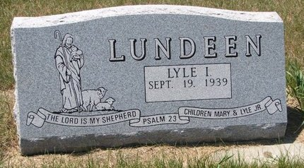 LUNDEEN, LYLE I. - Turner County, South Dakota | LYLE I. LUNDEEN - South Dakota Gravestone Photos