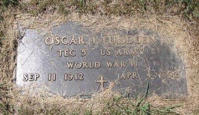 LUNDEEN, OSCAR I. (MILITARY) - Turner County, South Dakota | OSCAR I. (MILITARY) LUNDEEN - South Dakota Gravestone Photos