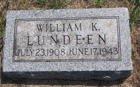 LUNDEEN, WILLIAM K. - Turner County, South Dakota | WILLIAM K. LUNDEEN - South Dakota Gravestone Photos