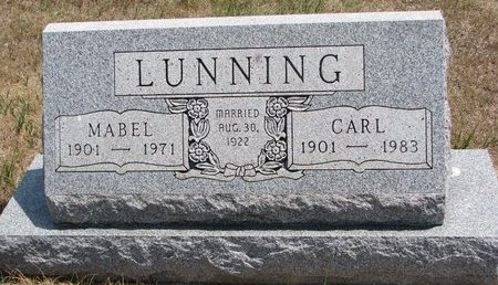 DUBOIS LUNNING, MABEL MARIE - Turner County, South Dakota | MABEL MARIE DUBOIS LUNNING - South Dakota Gravestone Photos