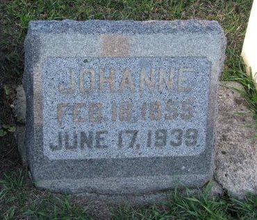 MADSEN, JOHANNE - Turner County, South Dakota   JOHANNE MADSEN - South Dakota Gravestone Photos