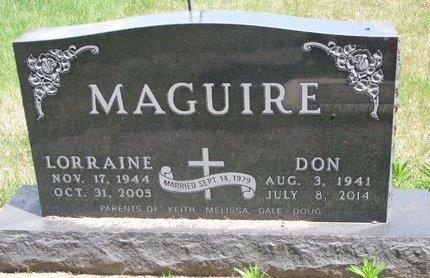 MAGUIRE, LORRAINE - Turner County, South Dakota | LORRAINE MAGUIRE - South Dakota Gravestone Photos