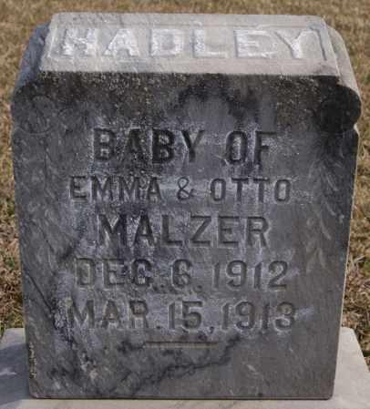 MALZER, HADLEY - Turner County, South Dakota | HADLEY MALZER - South Dakota Gravestone Photos