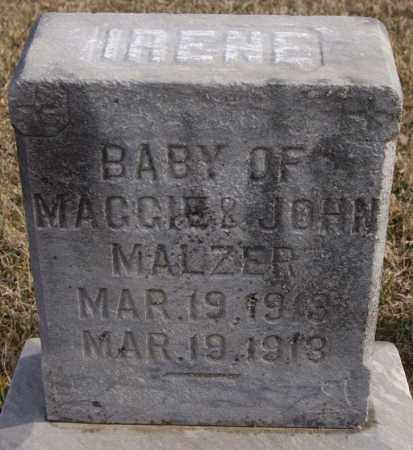 MALZER, IRENE - Turner County, South Dakota | IRENE MALZER - South Dakota Gravestone Photos