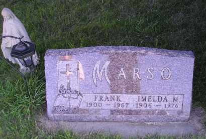 MARSO, IMELDA M. - Turner County, South Dakota | IMELDA M. MARSO - South Dakota Gravestone Photos