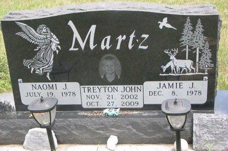 MARTZ, NAOMI J. - Turner County, South Dakota | NAOMI J. MARTZ - South Dakota Gravestone Photos