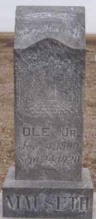 MAUSETH, OLE JR - Turner County, South Dakota | OLE JR MAUSETH - South Dakota Gravestone Photos