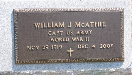 MCATHIE, WILLIAM J. - Turner County, South Dakota | WILLIAM J. MCATHIE - South Dakota Gravestone Photos
