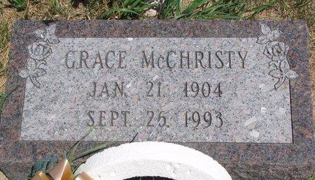 MCCHRISTY, GRACE - Turner County, South Dakota   GRACE MCCHRISTY - South Dakota Gravestone Photos