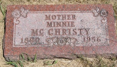 MCCHRISTY, MINNIE - Turner County, South Dakota   MINNIE MCCHRISTY - South Dakota Gravestone Photos
