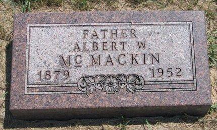 MCMACKIN, ALBERT W. - Turner County, South Dakota | ALBERT W. MCMACKIN - South Dakota Gravestone Photos
