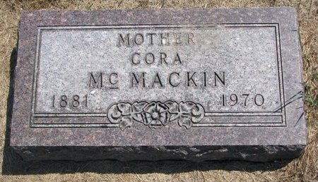 MCMACKIN, CORA - Turner County, South Dakota   CORA MCMACKIN - South Dakota Gravestone Photos