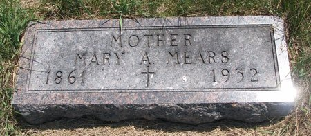 PINTER MEARS, MARY ANN - Turner County, South Dakota | MARY ANN PINTER MEARS - South Dakota Gravestone Photos