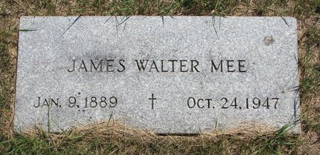 MEE, JAMES WALTER - Turner County, South Dakota | JAMES WALTER MEE - South Dakota Gravestone Photos
