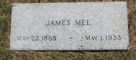 MEE, JAMES - Turner County, South Dakota | JAMES MEE - South Dakota Gravestone Photos