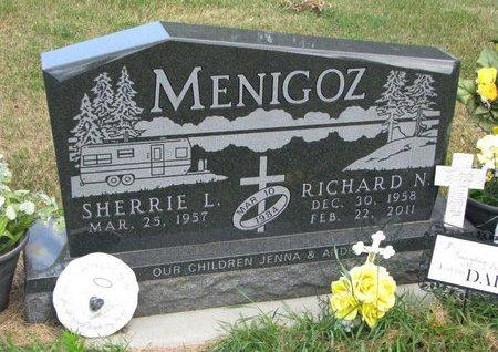 MENIGOZ, SHERRIE L. - Turner County, South Dakota   SHERRIE L. MENIGOZ - South Dakota Gravestone Photos