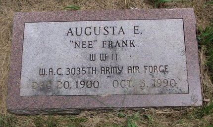 FRANK MEREDITH, AUGUSTA E. - Turner County, South Dakota | AUGUSTA E. FRANK MEREDITH - South Dakota Gravestone Photos